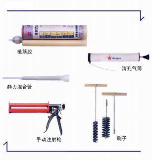 清孔工具:气筒、毛刷