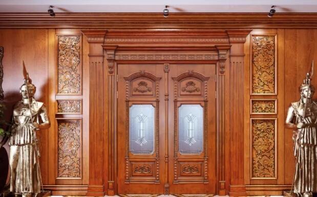 实木复合门安装案例展示图
