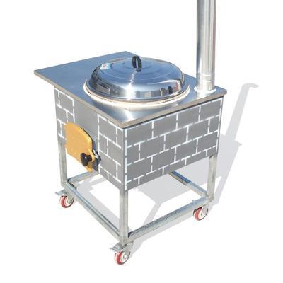 传启炉业讲解详细的恩施省柴灶的制作工艺