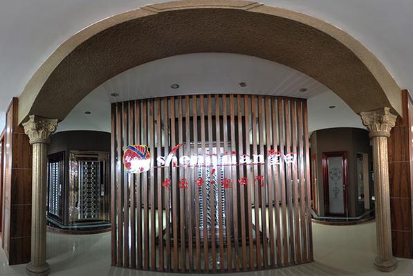 圣田門系列產品的現場展示