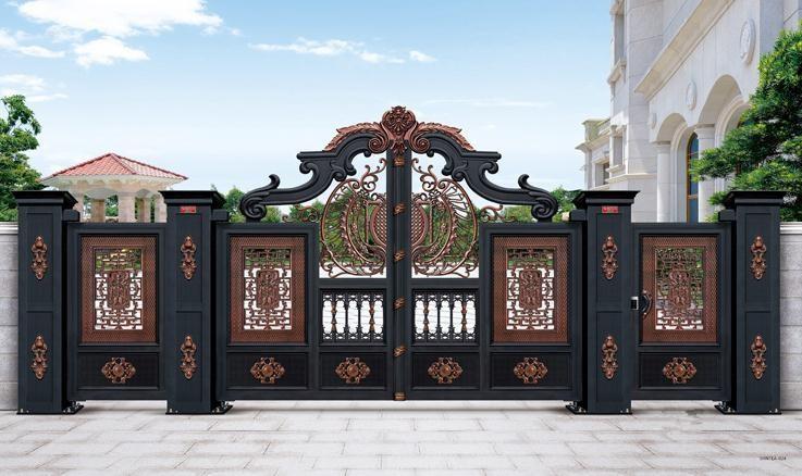 襄阳庭院门