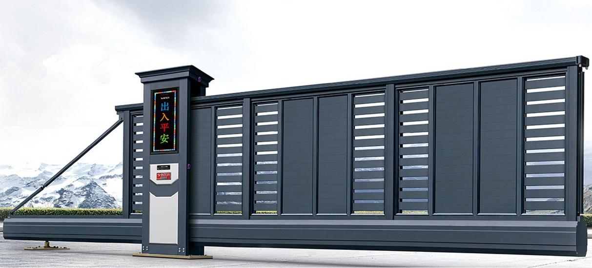 智能重型悬壁门T905 (磨砂深灰)