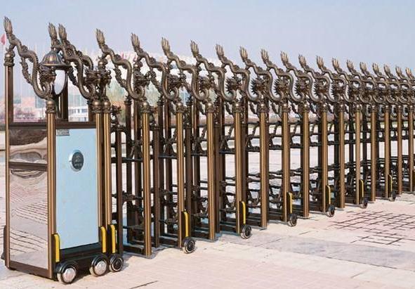 襄陽隆晟建材廠家分享一下關于選購電動伸縮門的六個方面的注意點!