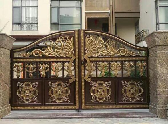 别墅庭院门不仅是一栋别墅的门面,更是别墅主人品味与身份的象征