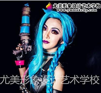 学员作品-蓝发美少女战士