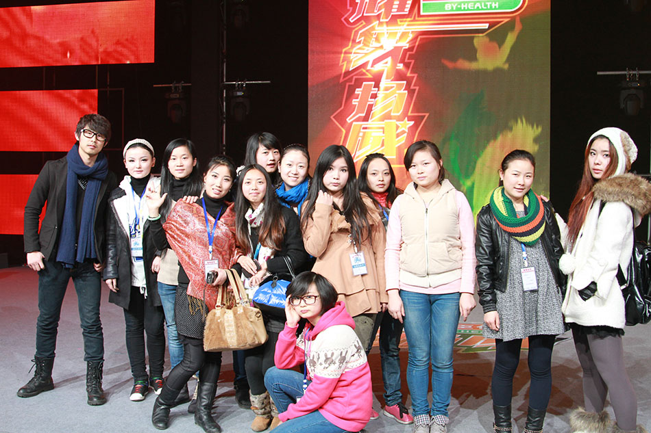 电视台《耀舞扬威》大型电视群众舞蹈竟技