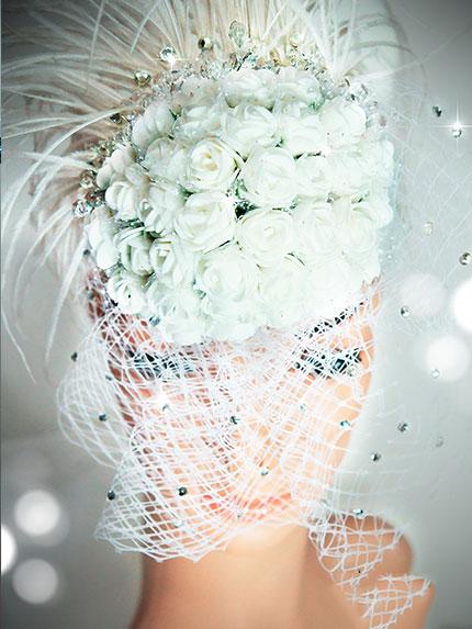 韓式新娘婚紗飾品