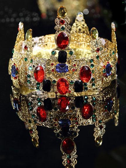中式新娘鳳冠