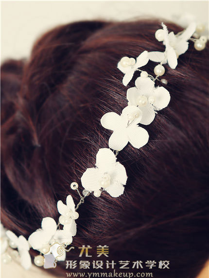 森系新娘頭飾