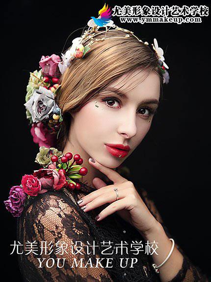彩妆欧美甜美造型
