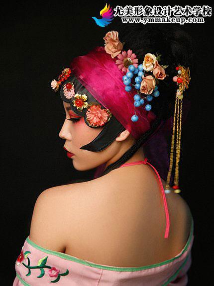 彩妆戏曲青衣造型