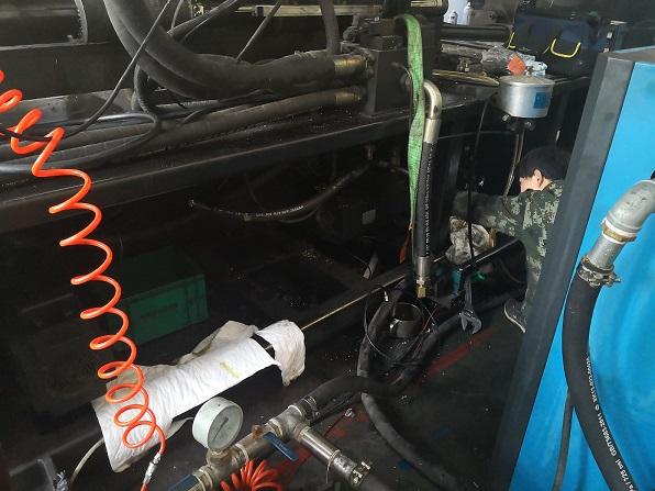 湖北注塑机油路检修