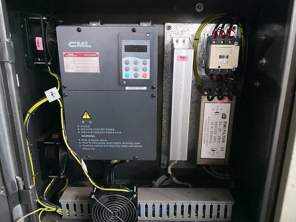 海星注塑机伺服控制器检修