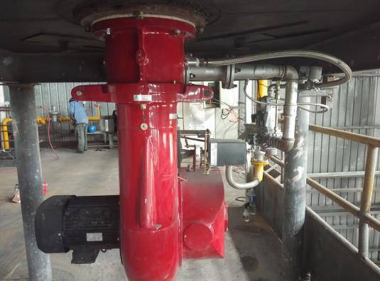 陕西天然气热风炉设备