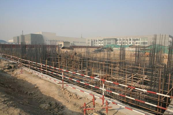 陕建安装惠安化学工业科研楼项目部