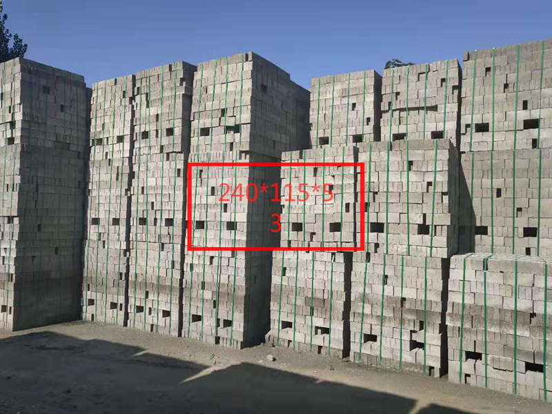 标砖在工地施工中应用的很广泛,但你了解标砖的主要特点吗?