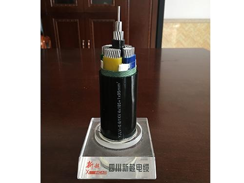 铝芯电力电缆(YJLV-0.6/1KV 4*185+1*95mm^2)