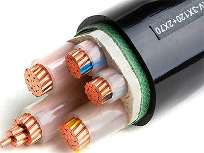 四川阻燃电缆(ZR-YJV-3X120+2X70)