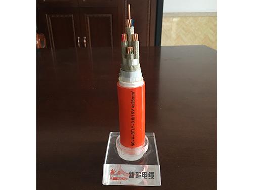 绝缘电缆(NG-A-BTLY-0.6/1KV 4*25mm^2)