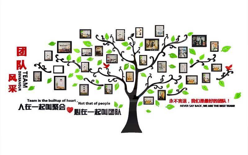 振兴竹木团队展示