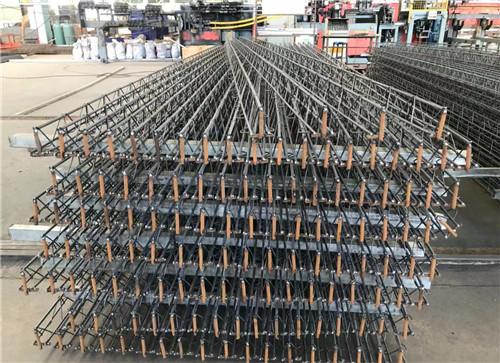 钢筋层架楼层板施工