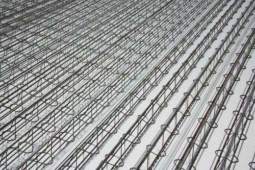 钢筋层架楼层板