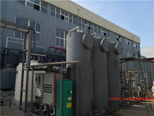 山东某化工企业废水除酚装置实景