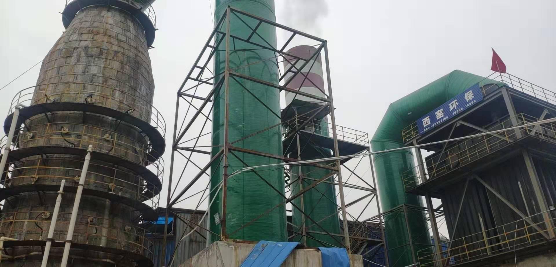 污水处理设备安装现场