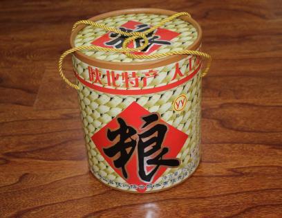 特产包装纸罐