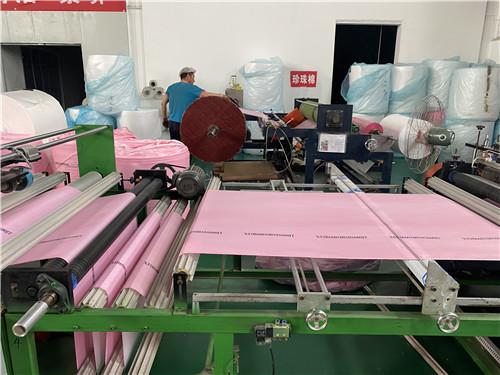 西安高洁净塑料袋生产车间
