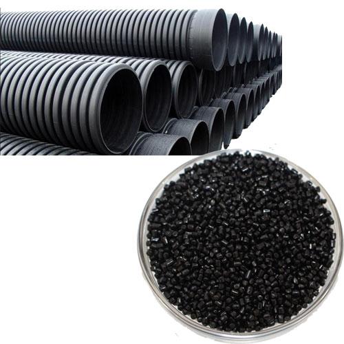 波纹管材用黑色母粒8022