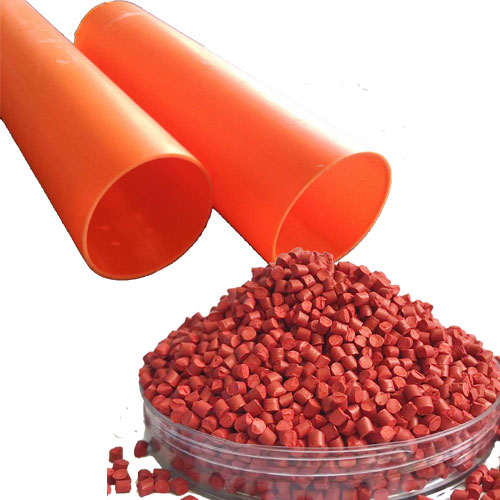 MPP电力管桔红色母502