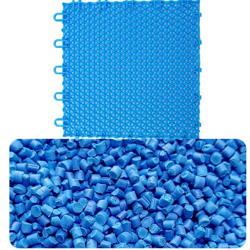 悬浮地板用蓝色母220