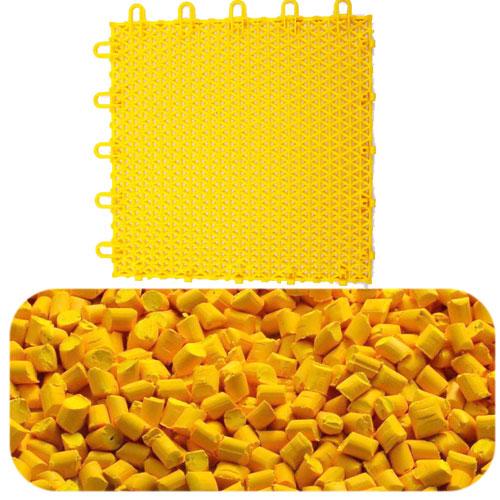 悬浮地板用黄色母116