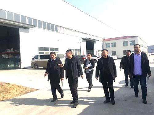 中国塑编专委会王学保主任、河南省塑编委主任陈从利等到访金东远科技