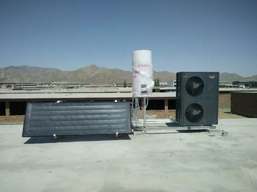 内蒙古包头市空气源热泵供暖项目