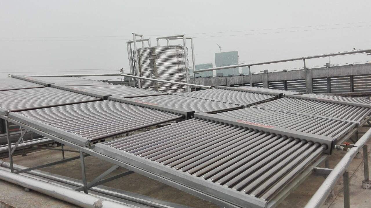 内蒙古太阳能热水工程施工