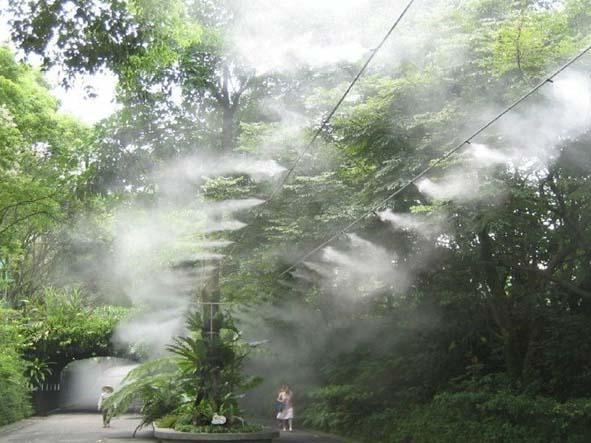 喷雾降温工程