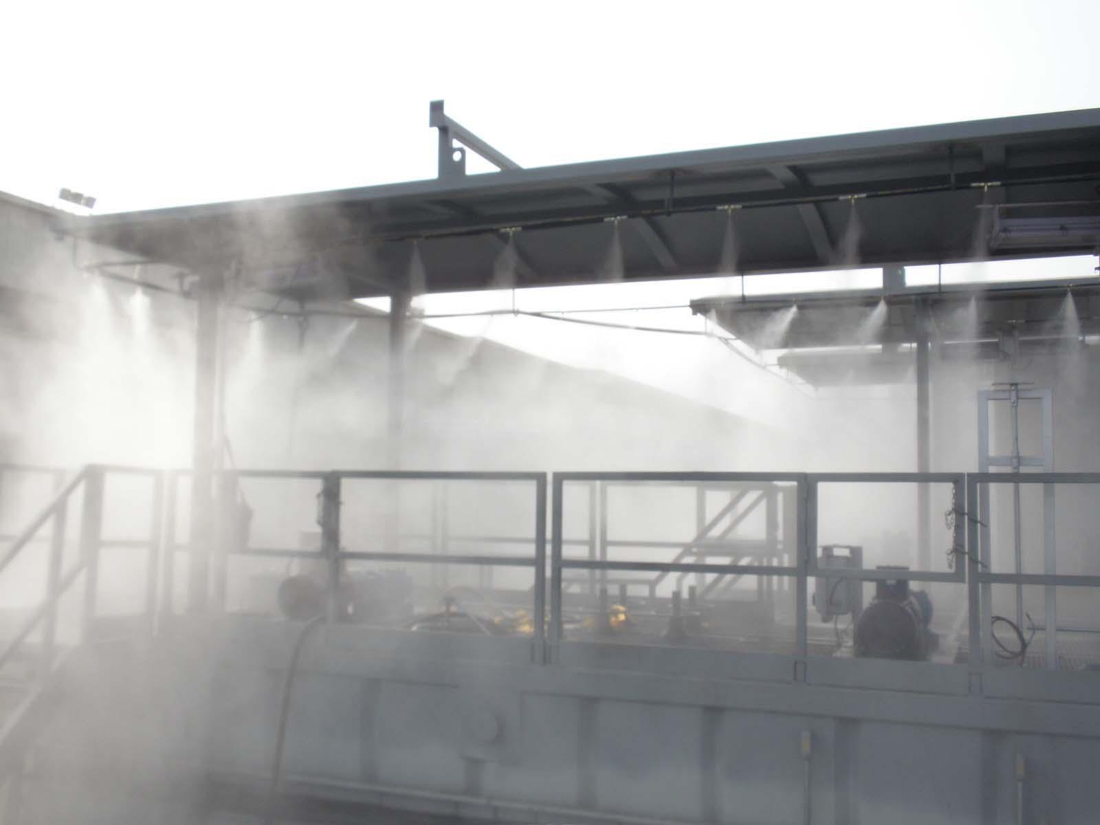喷雾除尘厂家