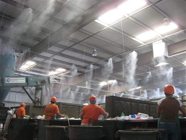 喷雾除臭安装