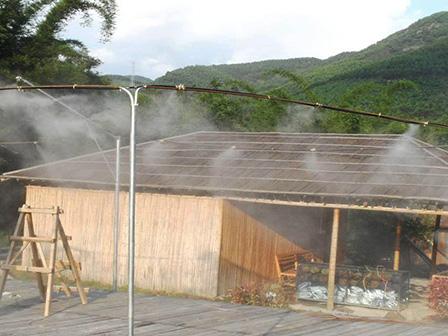 喷雾降温施工