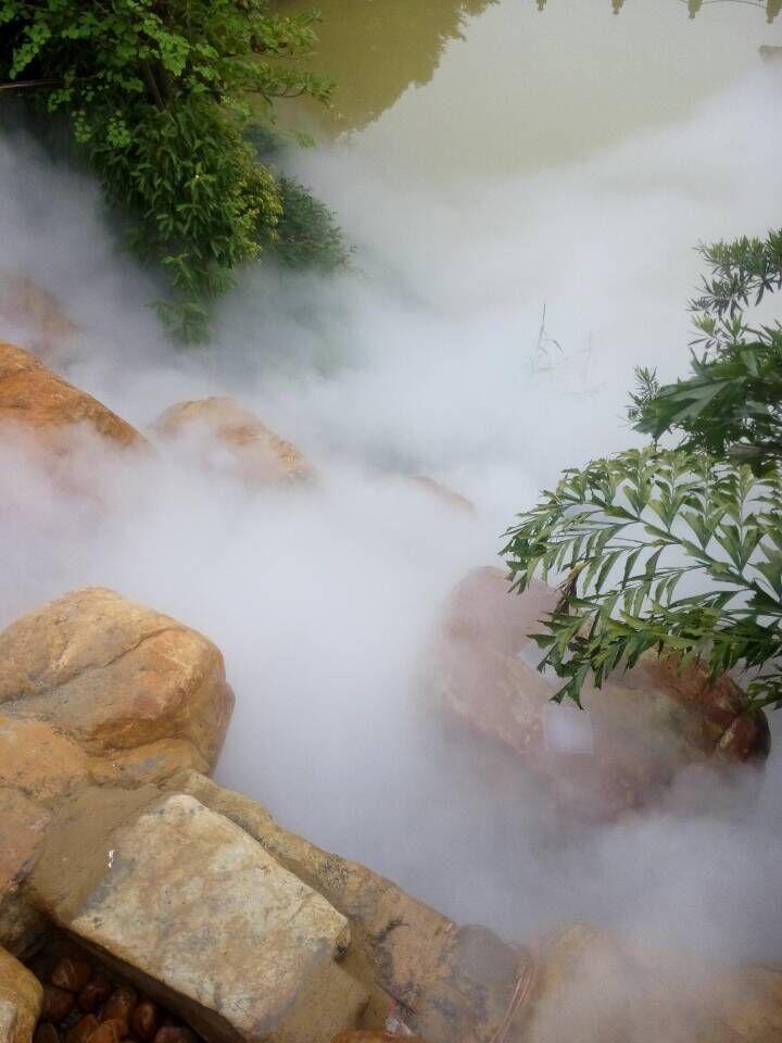 人工景观造雾