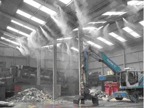 喷雾消毒除臭系统