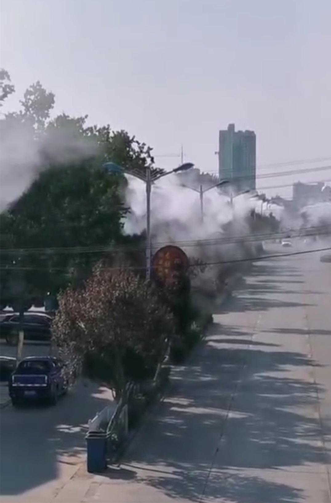 喷雾除尘案例