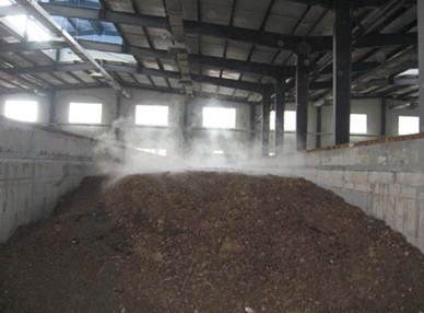 有机肥料发酵车间除臭