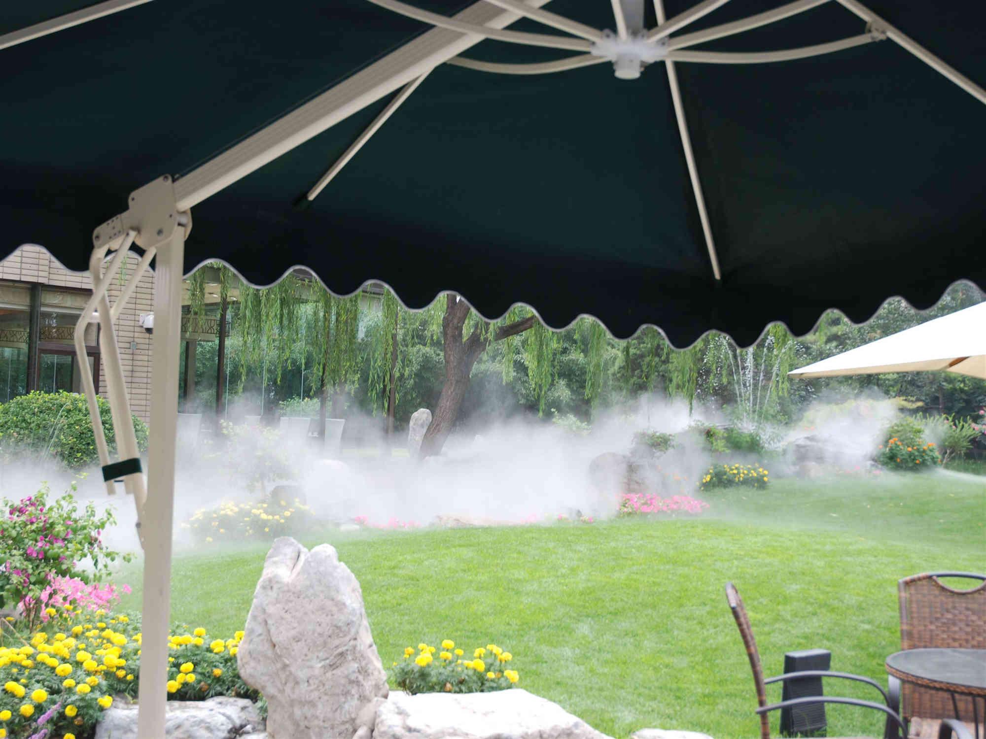 四川人工景观造雾