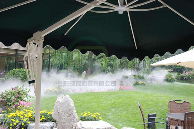 四川人工景观造雾案例