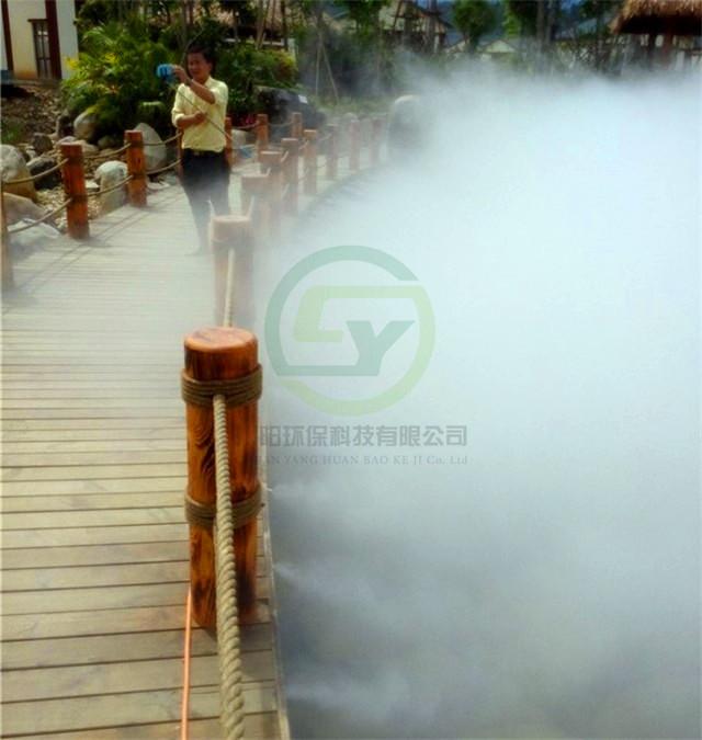 人工湖造雾设备
