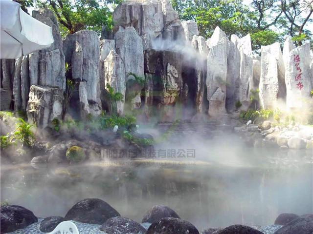成都人工景观造雾案例
