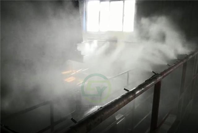 煤场振动筛高压喷雾除尘